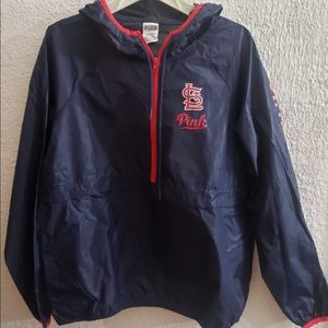 Stl Cardinals Pink Windbreaker
